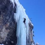 Riva di Tures - la guida alpina Tommaso in azione