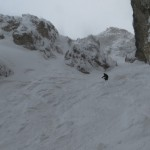 Freeride Dolomiti - Pordoi - Canale Holzer